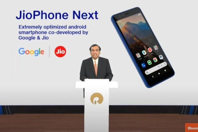 Se filtra el JioPhone: uno de los smartphones 4G más baratos del mundo