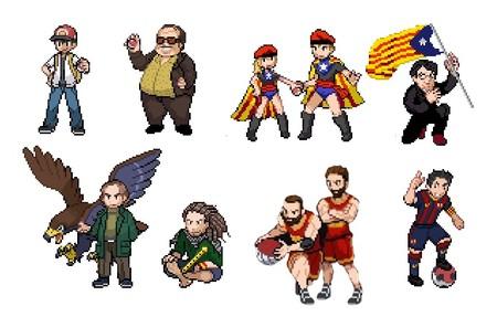 Personajes Pokemon Iberia