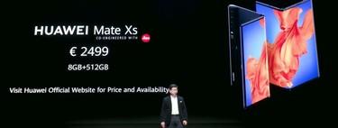 Los móviles de más de 2000 euros ya están aquí y la sorpresa es que el primero haya sido de Huawei