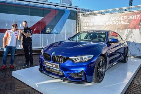 Marc Márquez BMW M4 CS