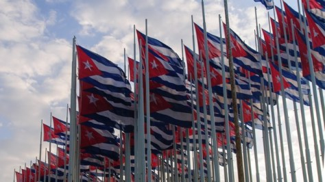 Banderas Cuba