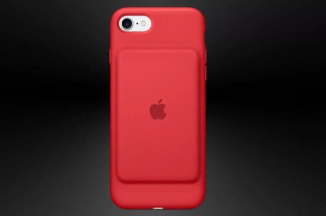 Iphone Smart Battery Case Red