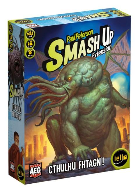 Smash Up expansión Cthulhu