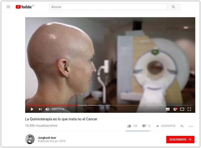 Youtube Noticias Falsas