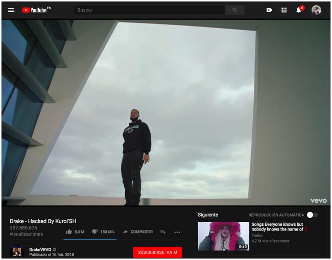 Drake Hacked By Kuroish