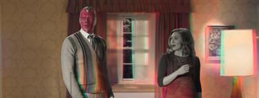 'Bruja Escarlata y Visión': una sorprendente reformulación en clave sitcom del MCU, que deja claro que su futuro está en la reinvención