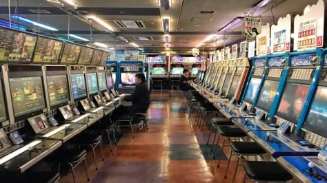 Akihabara máquinas arcade
