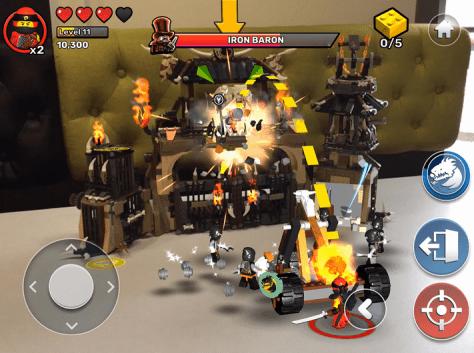 LEGO lanza su nueva app 'Playgrounds' para iOS, que combina elementos físicos con realidad aumentada