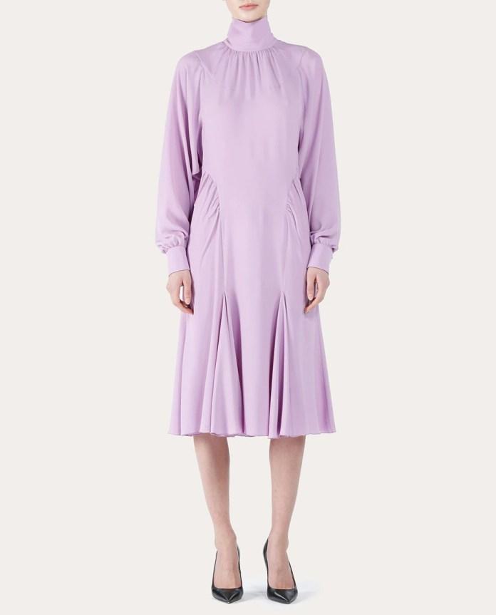 Silk midi dress Nº21