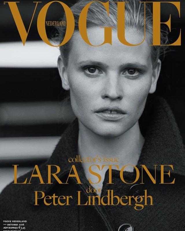 Vogue Holanda: Lara Stone