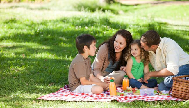 Comer al aire libre con seguridad