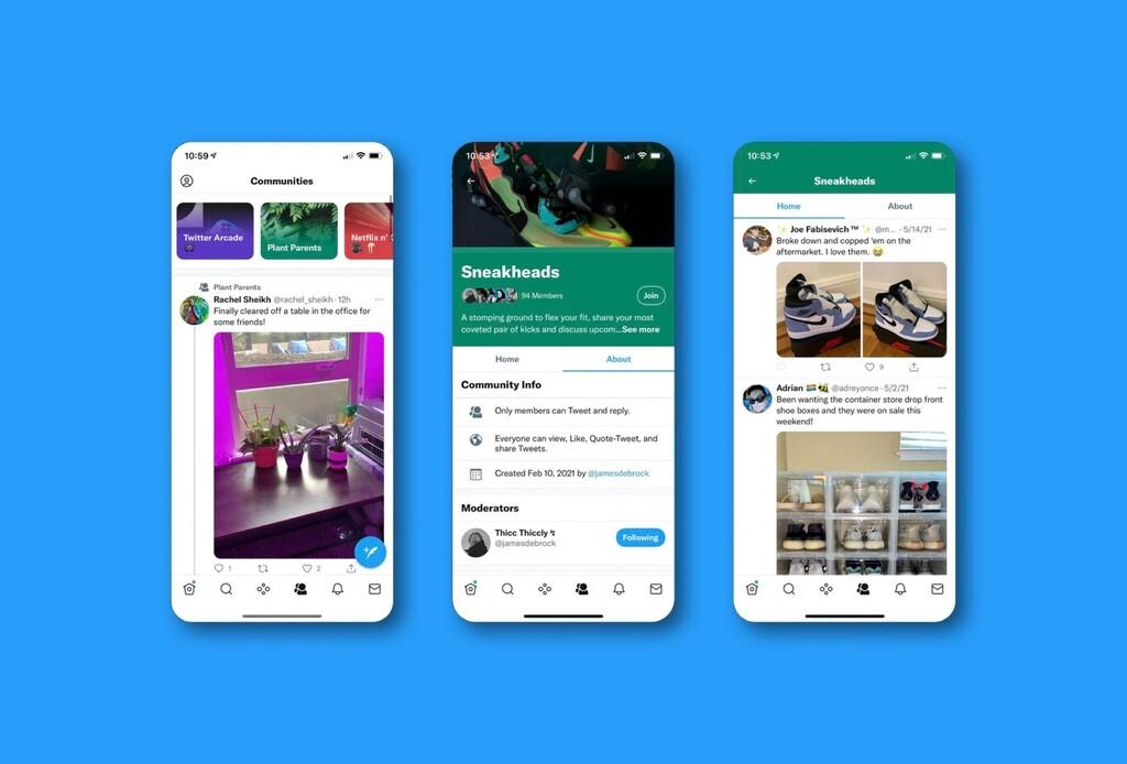 Twitter prueba ahora con las 'Comunidades', espacios temáticos privados similares a los subreddits y a grupos de Facebook