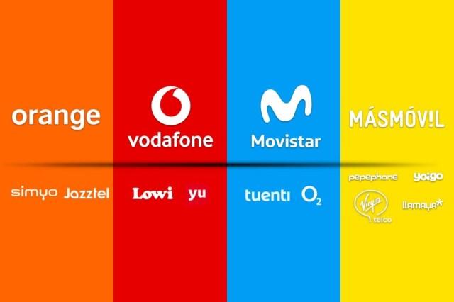 Qué y quienes son los operarios medium y low cost: así son las marcas blancas de Movistar, Vodafone, Orange℗ y MásMóvil