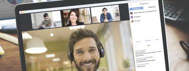 """Zoom y Microsoft Teams son los grandes """"ganadores"""" de esta cuarentena: las apps de videollamada arrasan con millones de nuevos usuarios"""