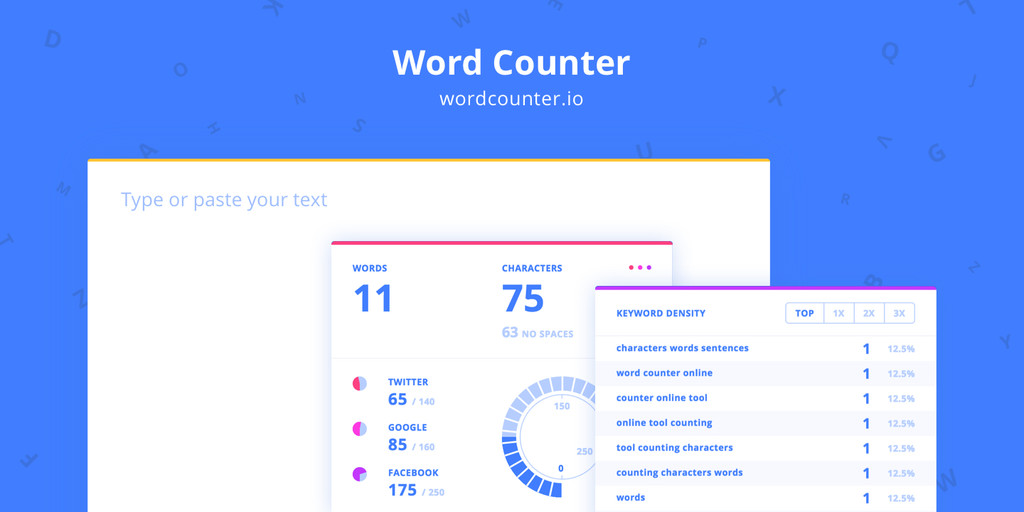 Word Counter Hero