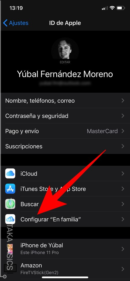 what it is and how to configure it to share subscriptions, purchases or storage