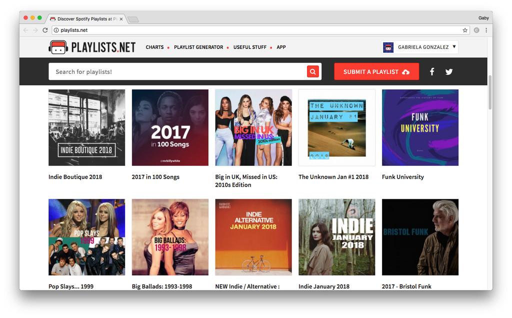 Discover Spotify Playlists At Playlists