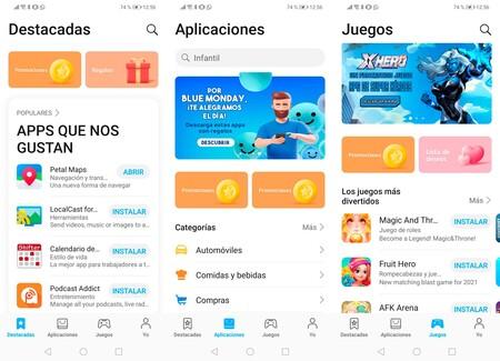 Huawei aktualisiert seinen AppGallery App Store mit besseren Highlights, neuem Menü und vielem mehr