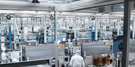 Enterprise Aerial Factory View 2x1