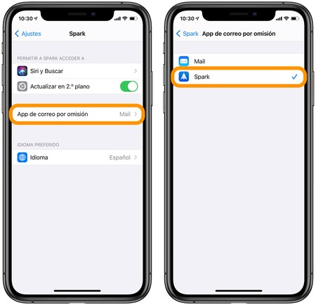 How to configure Spark, Gmail or any mail app as default email clients in iOS 14