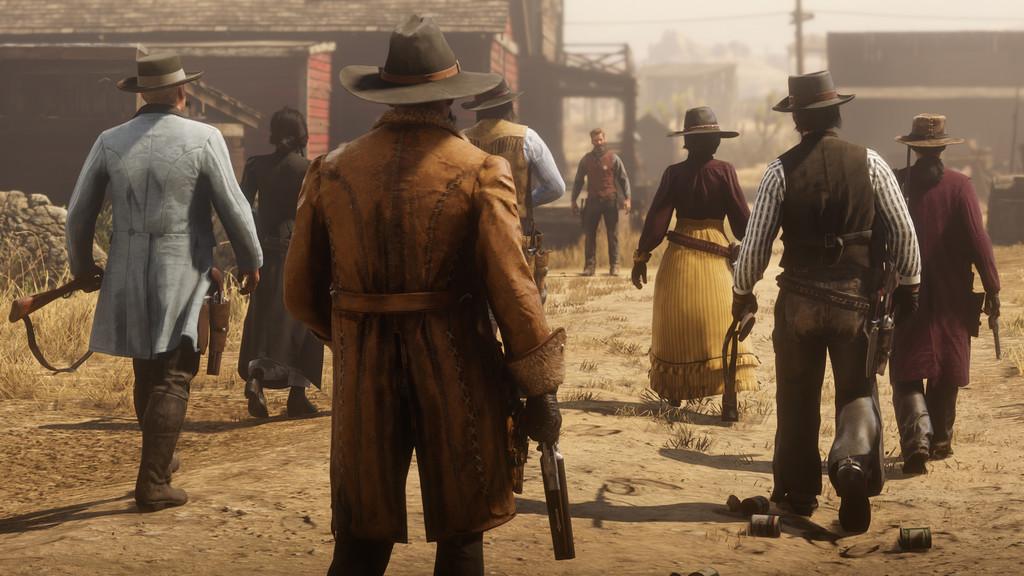 Permalink to Red Dead Online me ha dejado claro que el Salvaje Oeste es un lugar mejor si no eres un lobo solitario
