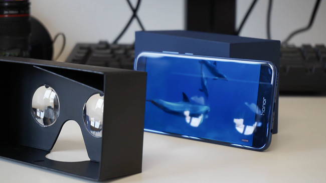 Honor 8 Pro VR cardboard gratis