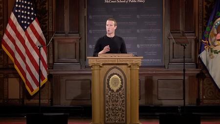 Mark Zuckerberg critica a China y a TikTok en su discurso, y recibe las mismas críticas por citar a Luther King