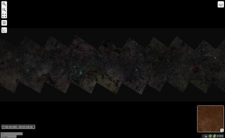 Vía láctea 46 gigapíxeles