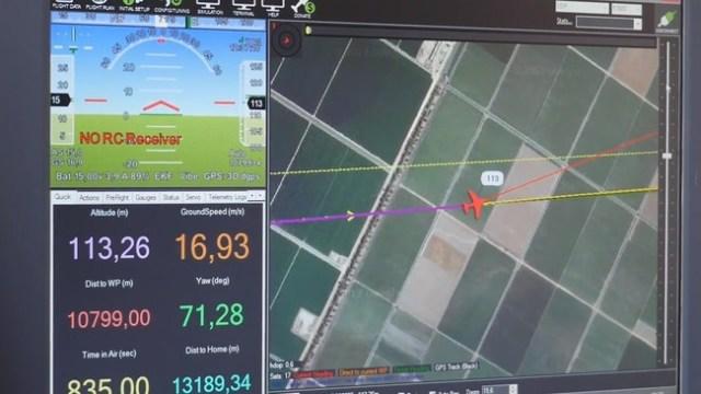 Vodafone justifica cómo se puede geolocalizar y verificar un dron empleando una red 4G