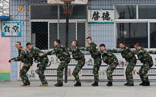 Beijing Boot Camp Teen Internet Addiction