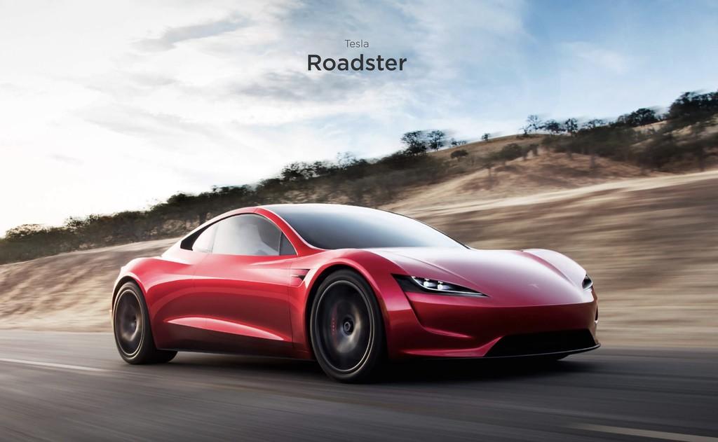 Así de alucinante se ve y se escucha cuando un Tesla Roadster hace el 0 a 100 km/h en sólo 2,1 segundos
