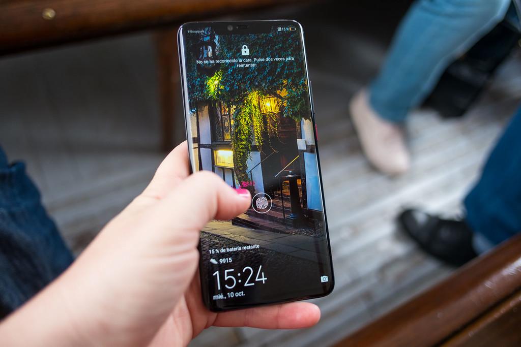 Así sirve el lector de huellas dactilares integrado en la pantalla del Mate 20 Pro de Huawei, y esta es su tecnología