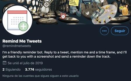 Remind Me Tweets