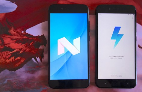 Comparativa Android Puro Vs Miui