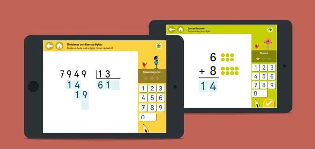 Cinco apps para que los niños aprendan matemáticas jugando