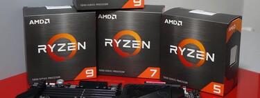 AMD Ryzen 9 5950X, 5900X, 5800X y 5600X, análisis: así rinden los procesadores con los que AMD ha puesto contra las cuerdas a Intel