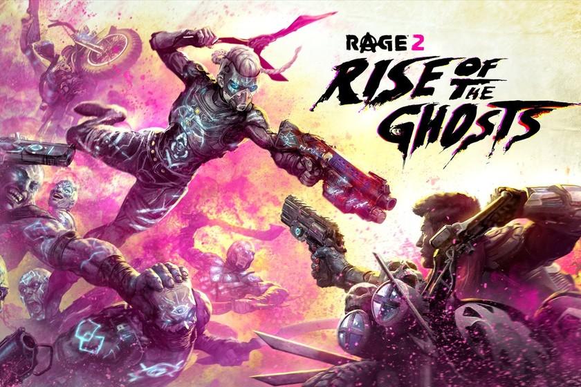 RAGE 2 pone fecha a El Resurgir de los Fantasmas, un alocado DLC que llegará a final de mes con una nueva zona y más armas