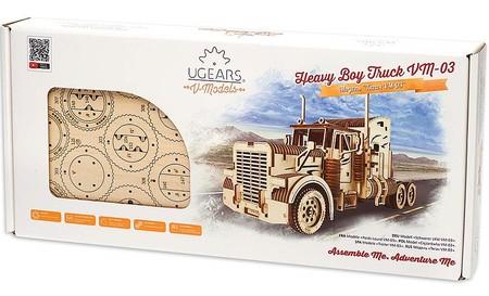 camion madera