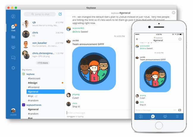 Permalink to Keybase lanza su propio servicio de comunicación para equipos al estilo Slack, pero completamente cifrado y gratis