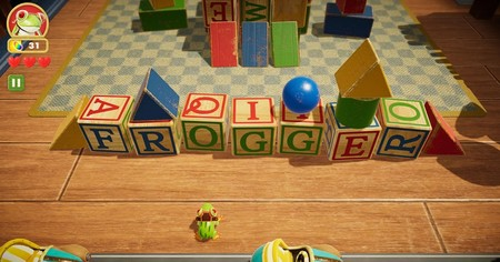 Frogger In Toy Town