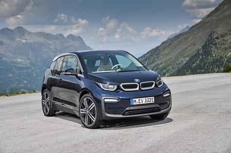 BMW i3 2018 azul
