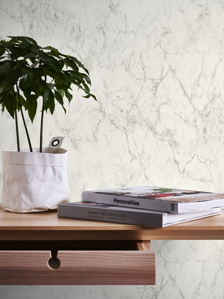 Leroy Merlin effect marble wallpaper