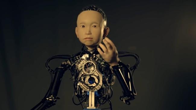 Permalink to Ibuki, el robot que simula el aspecto de un niño de 10 años… y que bien podría ser el protagonista de una película de terror