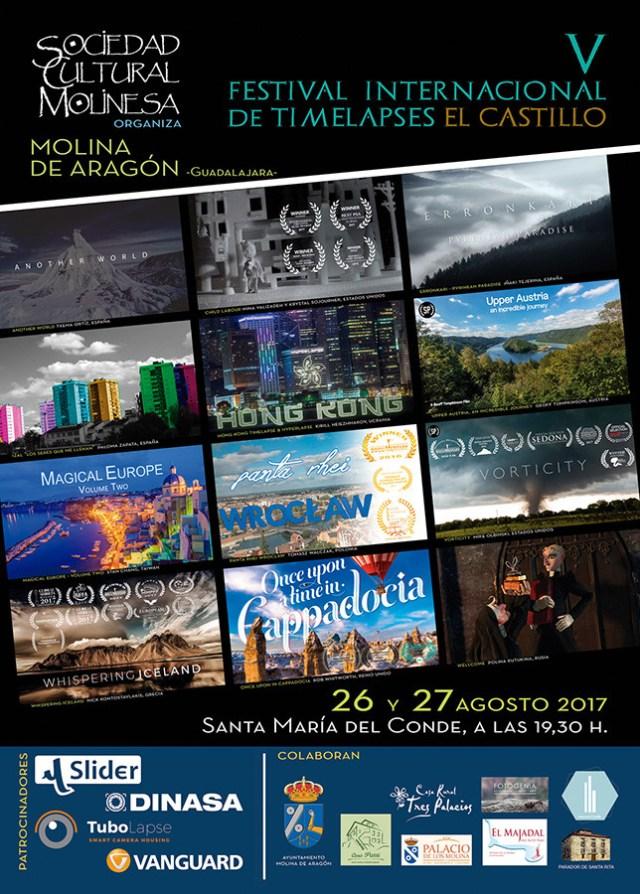 Cartel V Edicion Festival Timelapse Castillo Molina