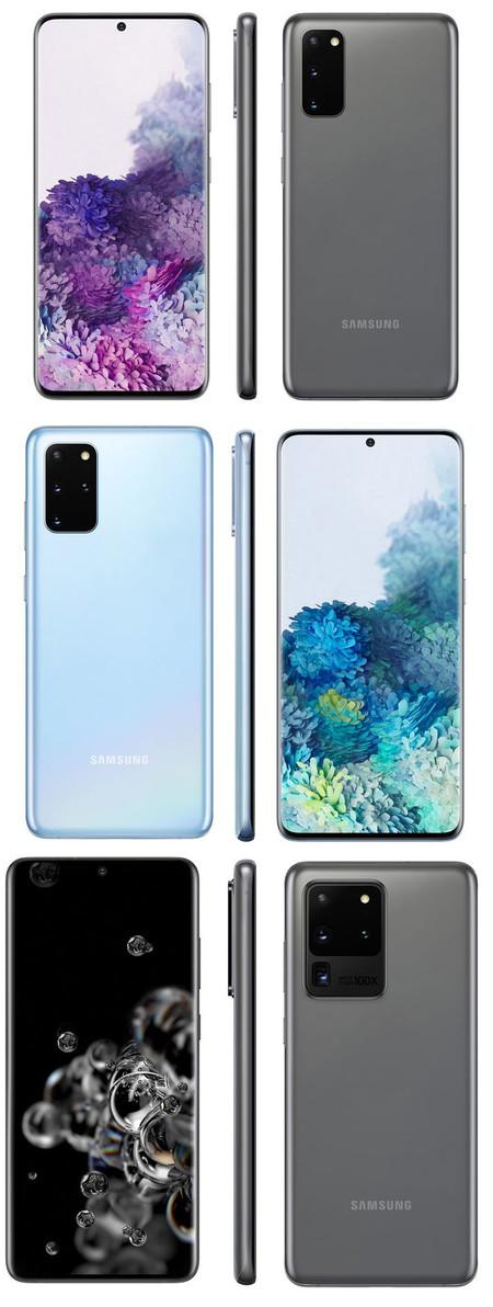 Samsung Galaxy S20 Todos Evleaks