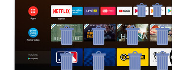 How to remove pre-installed applications from a TV with Android TV