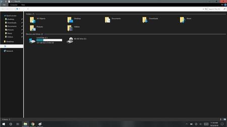 Dark File Explorer Problem Windows 10 1809