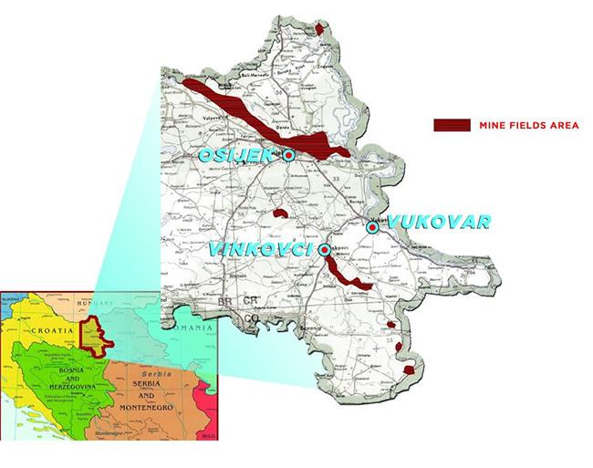 Mapa Croacia 2