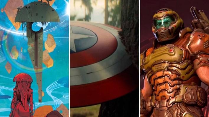 Seis planes imprescindibles para el fin de semana: 'Falcon y el Soldado de Invierno', 'DOOM Eternal', Arsène Lupin y mucho más