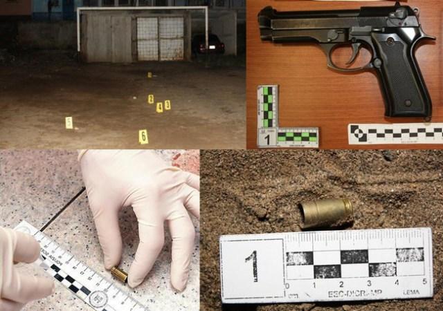 Casquillos Y Pistola